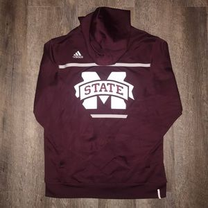 Adidas Mississippi State Hoodie- Small